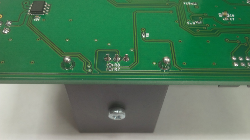 IGBT модуль после пайки