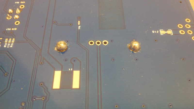 IGBM module soldered manuall using 50W iron